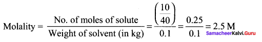 Samacheer Kalvi 11th Chemistry Solutions Chapter 9 Solutions-13
