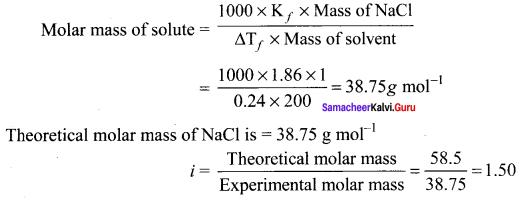 Samacheer Kalvi 11th Chemistry Solutions Chapter 9 Solutions-42