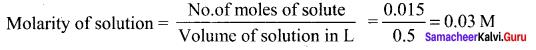 Samacheer Kalvi 11th Chemistry Solutions Chapter 9 Solutions-107