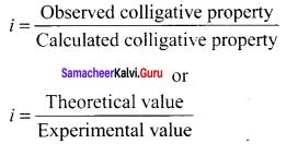 Samacheer Kalvi 11th Chemistry Solutions Chapter 9 Solutions-118