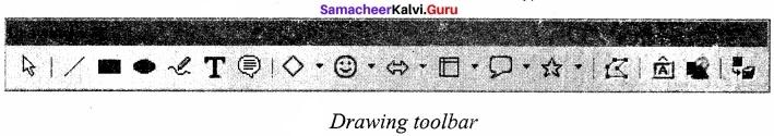 Samacheer Kalvi 11th Computer Applications Solutions Chapter 6 Word Processor Basics (OpenOffice Writer) img 1