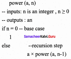 Samacheer Kalvi 11th Computer Science Solutions Chapter 8 Iteration and Recursion 21