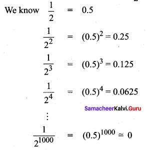Samacheer Kalvi 11th Maths Solutions Chapter 2 Basic Algebra Ex 2.1 4