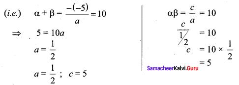 Samacheer Kalvi 11th Maths Solutions Chapter 2 Basic Algebra Ex 2.4 24