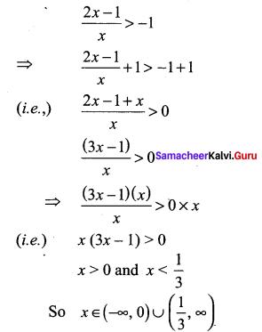 Samacheer Kalvi 11th Maths Solutions Chapter 2 Basic Algebra Ex 2.5 26