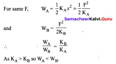 Samacheer Kalvi 11th Physics Solutions Chapter 4 Work, Energy and Power 135