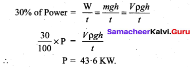 Samacheer Kalvi 11th Physics Solutions Chapter 4 Work, Energy and Power 155