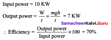 Samacheer Kalvi 11th Physics Solutions Chapter 4 Work, Energy and Power 197