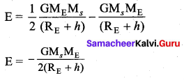 Samacheer Kalvi 11th Physics Solutions Chapter 6 Gravitation 101