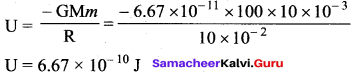 Samacheer Kalvi 11th Physics Solutions Chapter 6 Gravitation 11