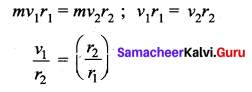 Samacheer Kalvi 11th Physics Solutions Chapter 6 Gravitation 13933