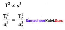 Samacheer Kalvi 11th Physics Solutions Chapter 6 Gravitation 1394