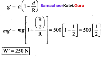 Samacheer Kalvi 11th Physics Solutions Chapter 6 Gravitation 20