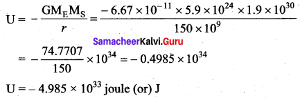 Samacheer Kalvi 11th Physics Solutions Chapter 6 Gravitation 219