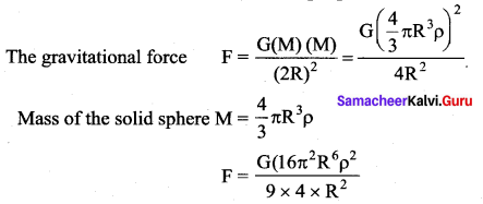 Samacheer Kalvi 11th Physics Solutions Chapter 6 Gravitation 5