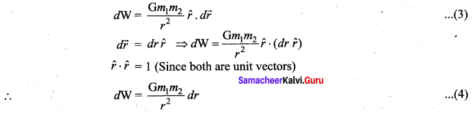 Samacheer Kalvi 11th Physics Solutions Chapter 6 Gravitation 54