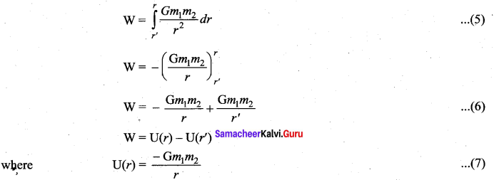 Samacheer Kalvi 11th Physics Solutions Chapter 6 Gravitation 55