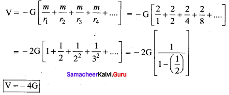 Samacheer Kalvi 11th Physics Solutions Chapter 6 Gravitation 9