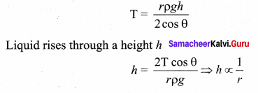 Samacheer Kalvi 11th Physics Solutions Chapter 7 Properties of Matter 81