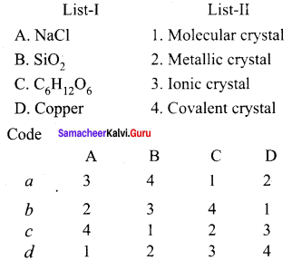 Samacheer Kalvi 12th Chemistry Solution Chapter 6 Solid State-26