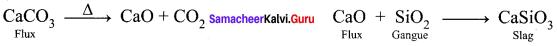12th Chemistry Metallurgy Book Back Answers Samacheer Kalvi