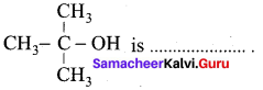 Samacheer Kalvi 12th Chemistry Solutions Chapter 11 Hydroxy Compounds and Ethers-110