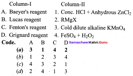 Samacheer Kalvi 12th Chemistry Solutions Chapter 11 Hydroxy Compounds and Ethers-200