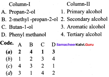 Samacheer Kalvi 12th Chemistry Solutions Chapter 11 Hydroxy Compounds and Ethers-125