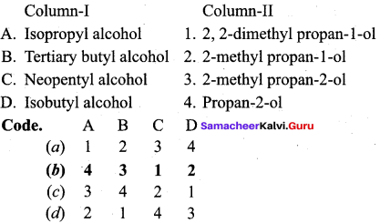 Samacheer Kalvi 12th Chemistry Solutions Chapter 11 Hydroxy Compounds and Ethers-128
