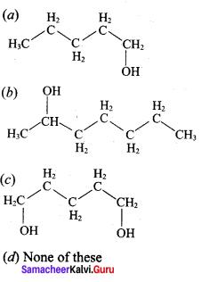 Hydroxy Compounds And Ethers Samacheer Kalvi