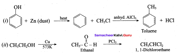 Samacheer Kalvi 12th Chemistry Solutions Chapter 11 Hydroxy Compounds and Ethers-233