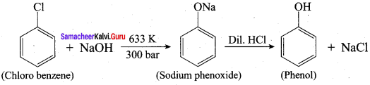Samacheer Kalvi 12th Chemistry Solutions Chapter 11 Hydroxy Compounds and Ethers-39