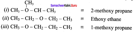 Samacheer Kalvi 12th Chemistry Solutions Chapter 11 Hydroxy Compounds and Ethers-49