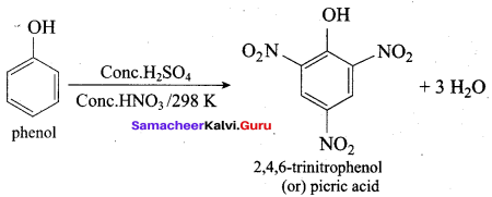Samacheer Kalvi 12th Chemistry Solutions Chapter 11 Hydroxy Compounds and Ethers-250