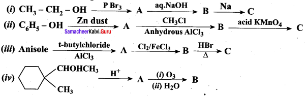 Samacheer Kalvi 12th Chemistry Solutions Chapter 11 Hydroxy Compounds and Ethers-52