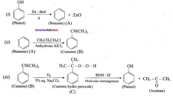 Samacheer Kalvi 12th Chemistry Solutions Chapter 11 Hydroxy Compounds and Ethers-58