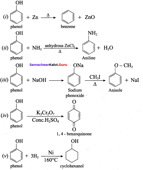 Samacheer Kalvi 12th Chemistry Solutions Chapter 11 Hydroxy Compounds and Ethers-257