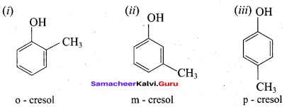 Samacheer Kalvi 12th Chemistry Solutions Chapter 11 Hydroxy Compounds and Ethers-167