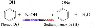 Samacheer Kalvi 12th Chemistry Solutions Chapter 11 Hydroxy Compounds and Ethers-280