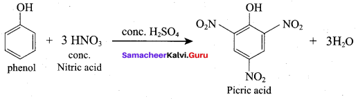 Samacheer Kalvi 12th Chemistry Solutions Chapter 11 Hydroxy Compounds and Ethers-186