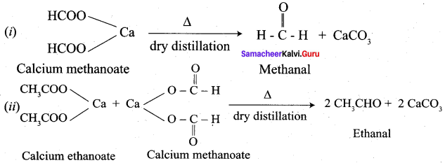 Samacheer Kalvi 12th Chemistry Solutions Chapter 12 Carbonyl Compounds and Carboxylic Acids-211