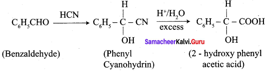 Samacheer Kalvi 12th Chemistry Solutions Chapter 12 Carbonyl Compounds and Carboxylic Acids-56