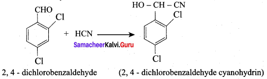 Samacheer Kalvi 12th Chemistry Solutions Chapter 12 Carbonyl Compounds and Carboxylic Acids-58