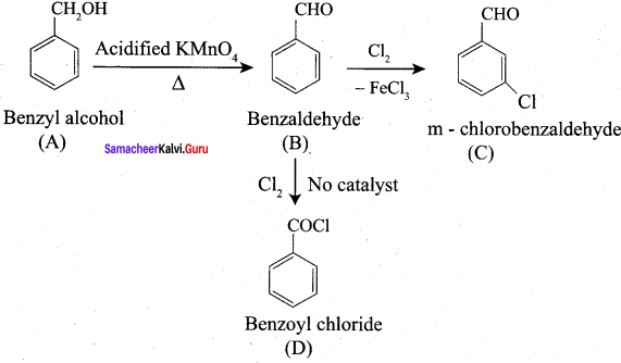 Samacheer Kalvi 12th Chemistry Solutions Chapter 12 Carbonyl Compounds and Carboxylic Acids-282