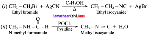 Samacheer Kalvi 12th Chemistry Solutions Chapter 13 Organic Nitrogen Compounds-303