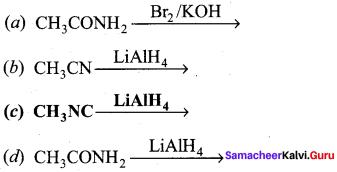 Samacheer Kalvi 12th Chemistry Solutions Chapter 13 Organic Nitrogen Compounds-240