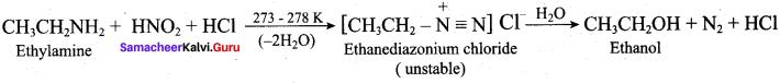 Samacheer Kalvi 12th Chemistry Solutions Chapter 13 Organic Nitrogen Compounds-157