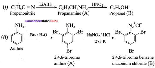 Samacheer Kalvi 12th Chemistry Solutions Chapter 13 Organic Nitrogen Compounds-161