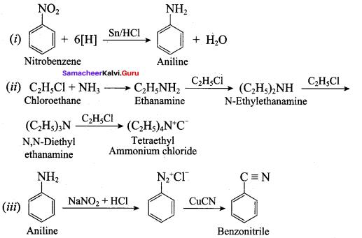 Samacheer Kalvi 12th Chemistry Solutions Chapter 13 Organic Nitrogen Compounds-164