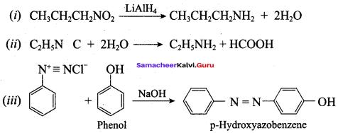Samacheer Kalvi 12th Chemistry Solutions Chapter 13 Organic Nitrogen Compounds-165
